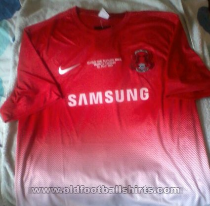 Leyton Orient Thuis  voetbalshirt  2013 - 2014