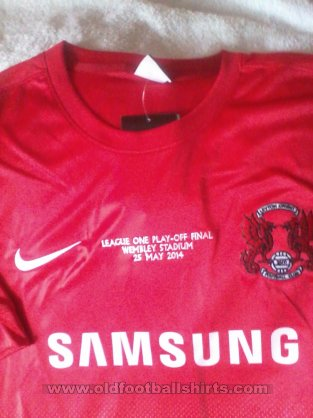 Leyton Orient Home football shirt 2013 - 2014