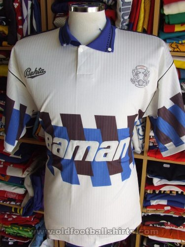 Leyton Orient Away football shirt 1990 - 1992