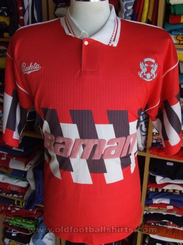 Leyton Orient Thuis  voetbalshirt  1990 - 1992