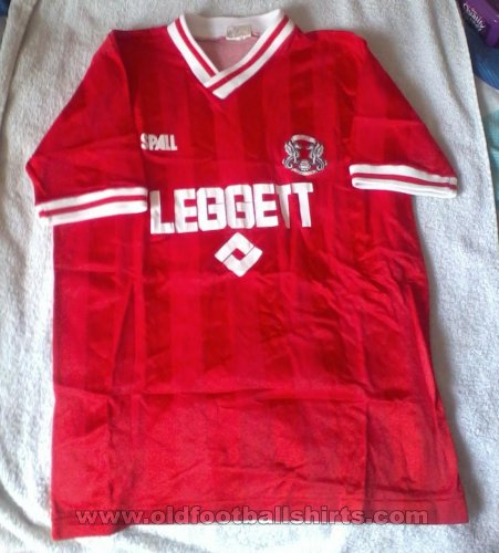 Leyton Orient Home football shirt 1987 - 1988