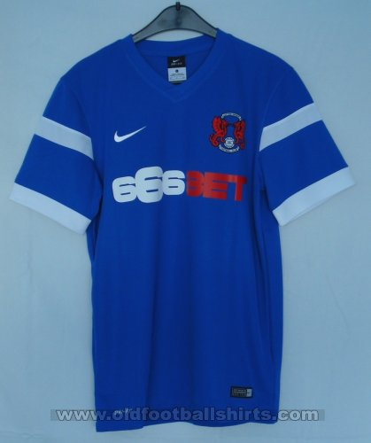Leyton Orient Away football shirt 2014 - 2015