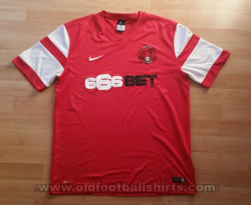 Leyton Orient Thuis  voetbalshirt  2014 - 2015