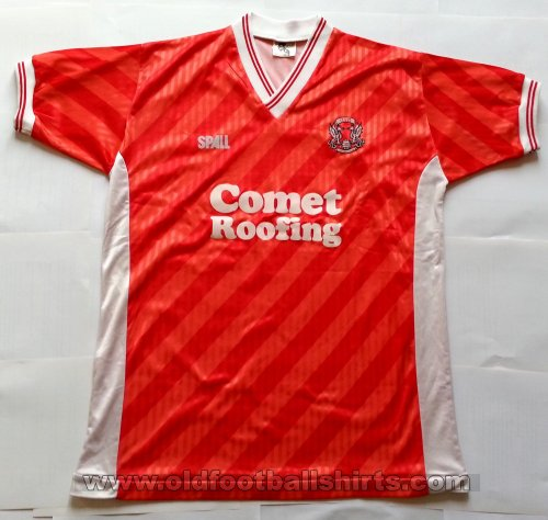 Leyton Orient Local Camiseta de Fútbol 1988 - 1989
