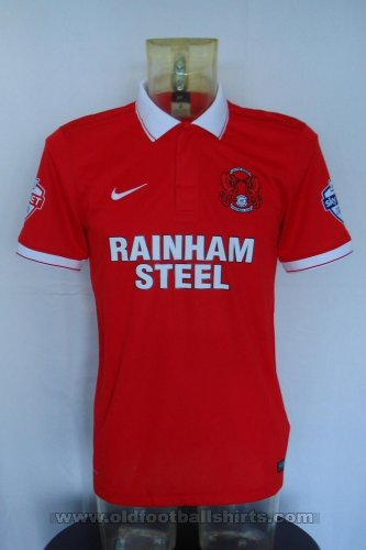 Leyton Orient Thuis  voetbalshirt  2015 - 2016