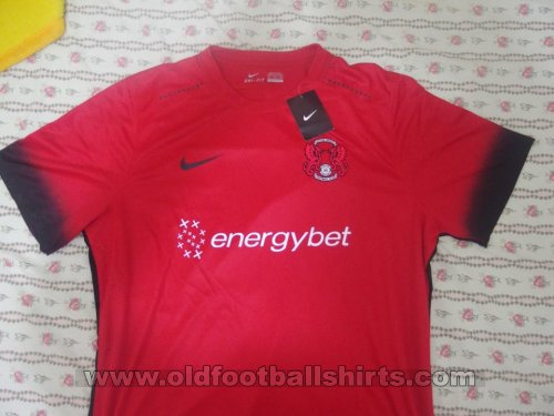 Leyton Orient Thuis  voetbalshirt  2016 - 2017