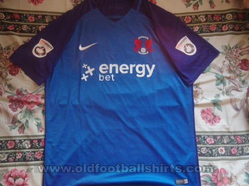 Leyton Orient Away football shirt 2017 - 2018
