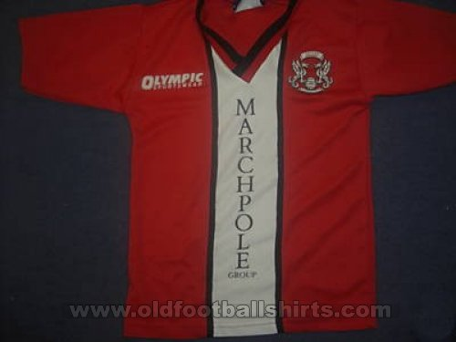 Leyton Orient Thuis  voetbalshirt  1997 - 1998