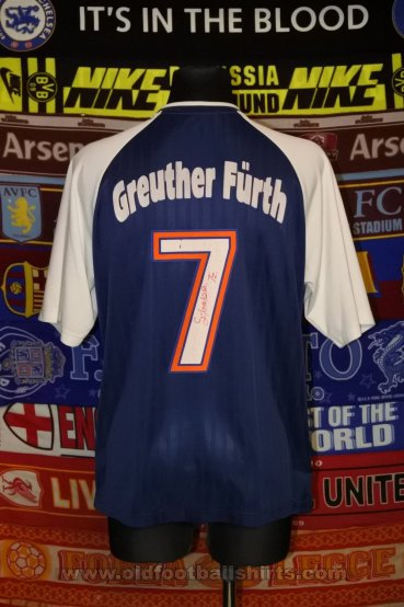 Greuther Furth Third football shirt 2001 - 2002