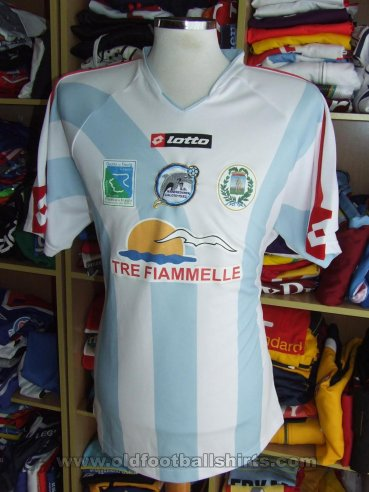 Manfredonia Calcio Home football shirt 2008 - 2009