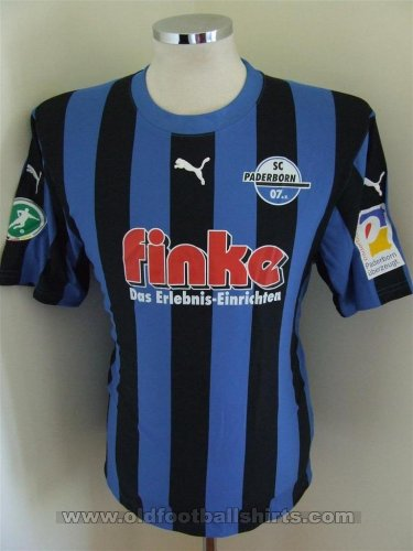 Paderborn Home football shirt 2008 - 2009