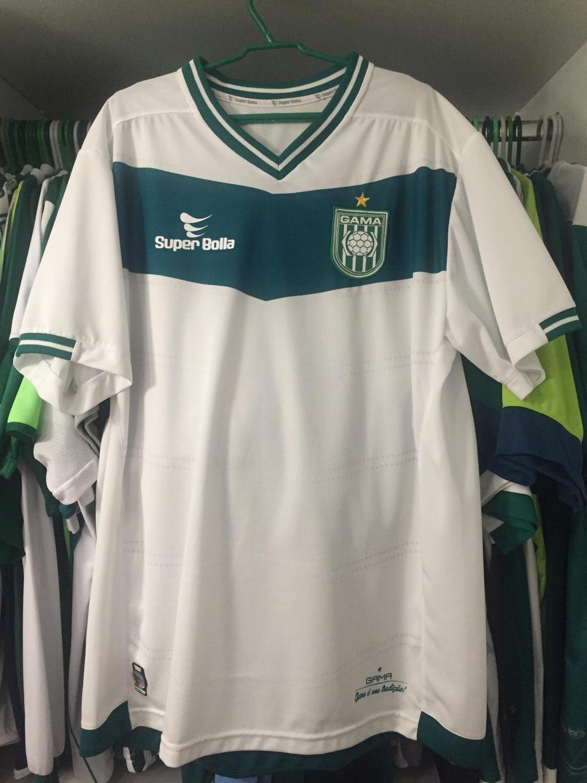45a5e4d43fde8 Sociedade Esportiva do Gama Away camisa de futebol 2016 - 2017.