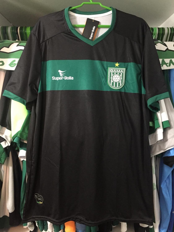 f8be9cb9e579e Sociedade Esportiva do Gama Goalkeeper camisa de futebol 2013.