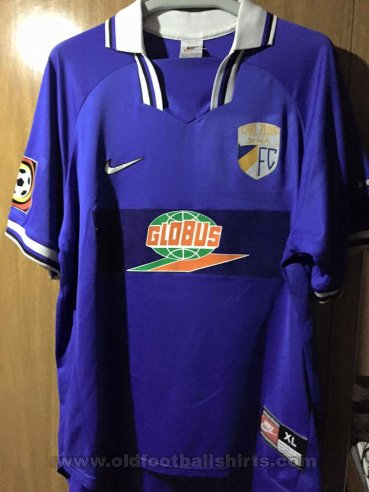Carl Zeiss Jena Home football shirt 1997 - 1998