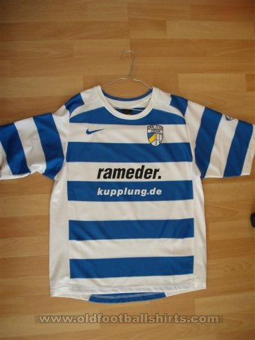 Carl Zeiss Jena Cup Shirt football shirt 2007 - 2008
