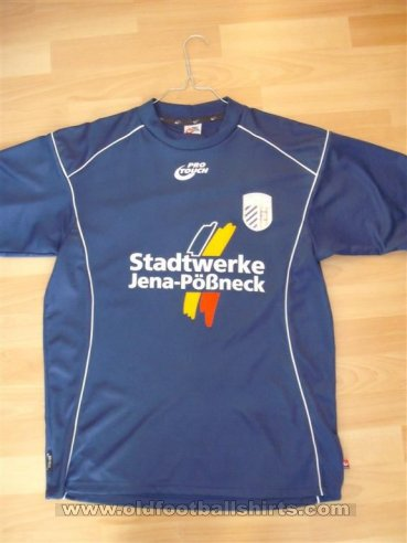Carl Zeiss Jena Away football shirt 2004 - 2005