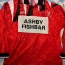Ashby Ivanhoe football shirt 1987 - 1988