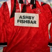 Away football shirt 1987 - 1988