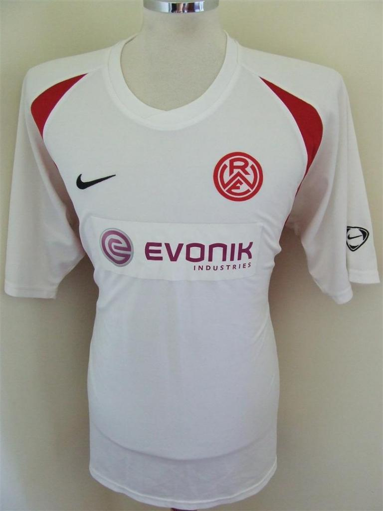 rot weiss essen away football shirt 2007 2008 added on. Black Bedroom Furniture Sets. Home Design Ideas
