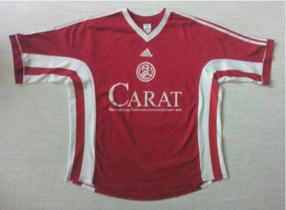 rot weiss essen home football shirt 1999 2000 added on. Black Bedroom Furniture Sets. Home Design Ideas