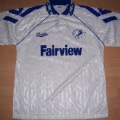 Third football shirt 1992 - 1993