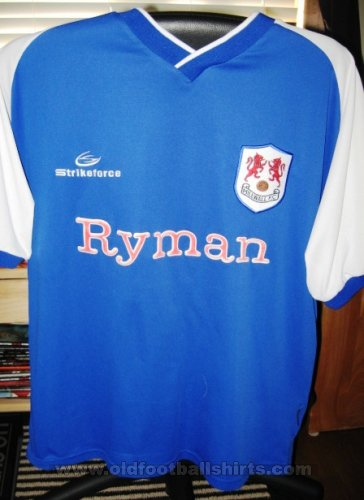 Millwall Thuis  voetbalshirt  2003 - 2004