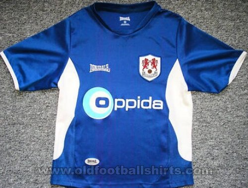 Millwall Thuis  voetbalshirt  2006 - 2007