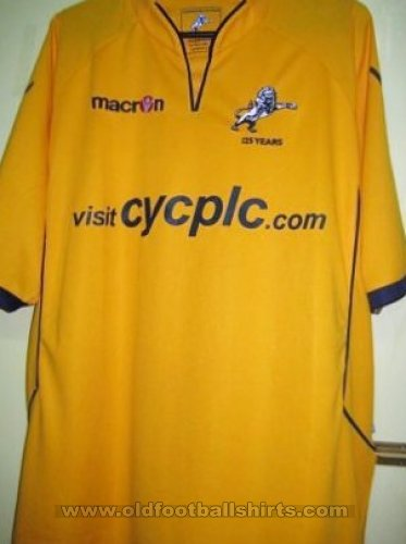 Millwall Away football shirt 2010 - 2011