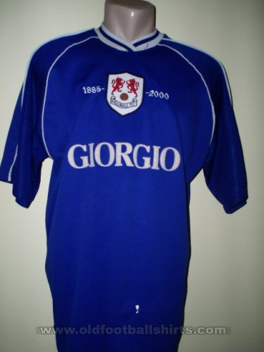 Millwall Local Camiseta de Fútbol 2000