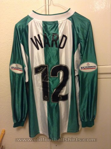 Millwall Away football shirt 2003 - 2004