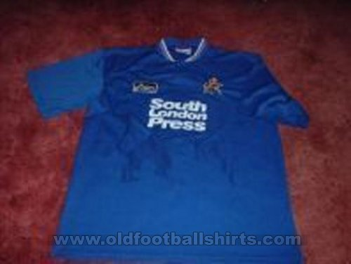 Millwall Home football shirt 1996 - 1997
