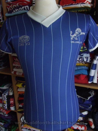 Millwall Home football shirt 1983 - 1984