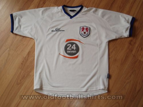 Millwall Away football shirt 2001 - 2002