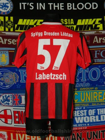 SpVgg Dresden-Löbtau 1893 Away football shirt (unknown year)