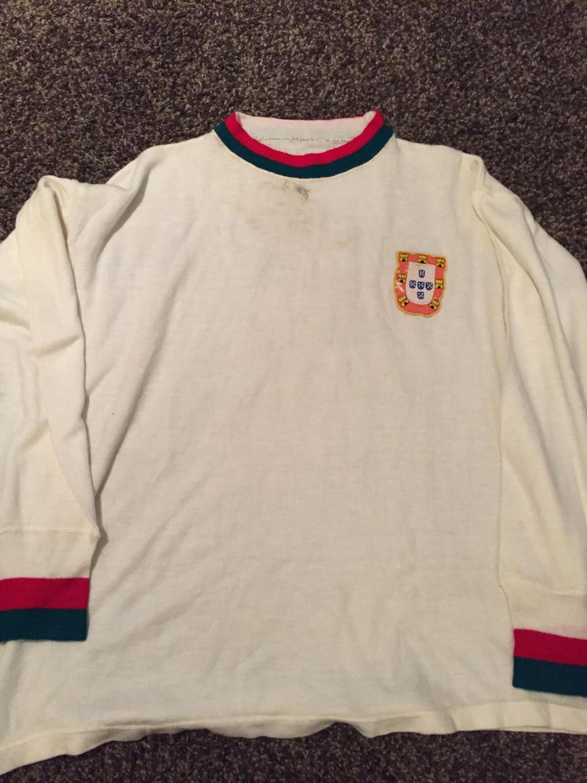 8d3a6bc67 Portugal Away camisa de futebol 1966.
