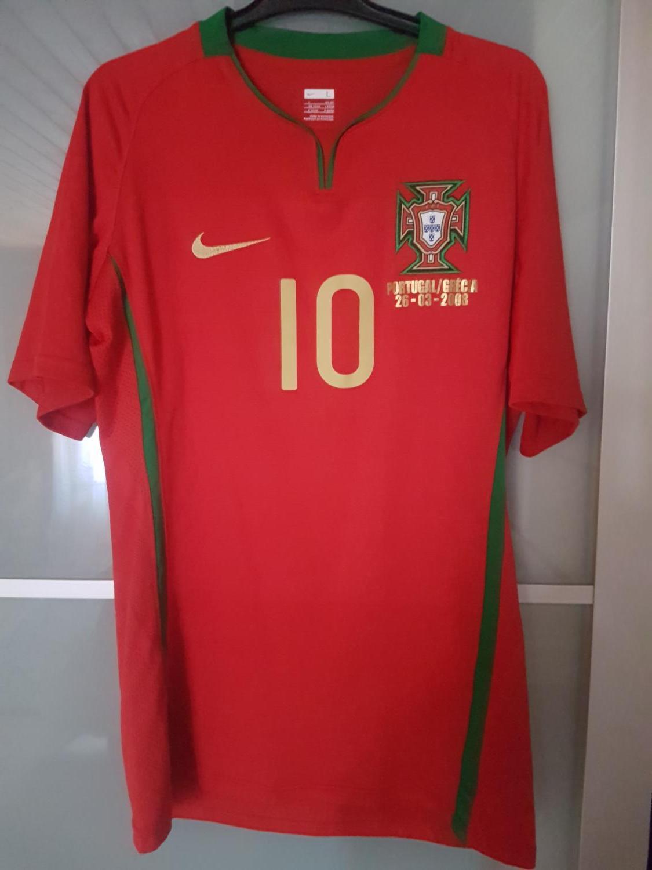 Portugal Home maglia di calcio 2008 - 2010.
