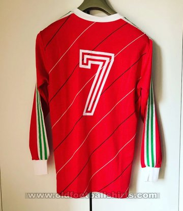 Portugal Home Camiseta de Fútbol 1985 - 1986
