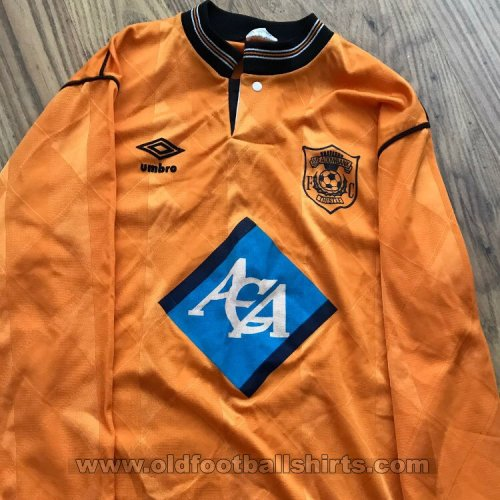 Meadowbank Thistle Home חולצת כדורגל 1988 - 1990