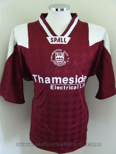 Chelmsford City Home baju bolasepak (unknown year)