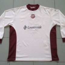 Chelmsford City Home football shirt 2000 - 2002 sponsored by Countryside