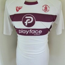 Chelmsford City Away football shirt 2009 - 2010 sponsored by playface.com