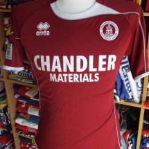 Chelmsford City Home football shirt 2011 - 2012 sponsored by Chandler