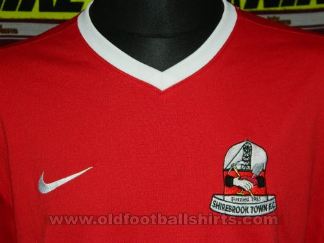 Shirebrook Town Home voetbalshirt  (unknown year)
