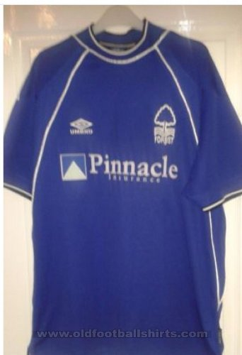 Nottingham Forest Away baju bolasepak 1999 - 2001