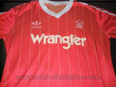 Nottingham Forest Home football shirt 1982 - 1984