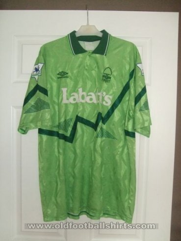 Nottingham Forest Third baju bolasepak 1992 - 1993