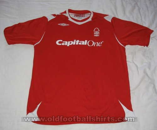 Nottingham Forest Domicile Maillot de foot 2006 - 2007