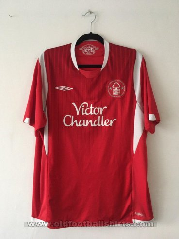 Nottingham Forest Home football shirt 2009 - 2010