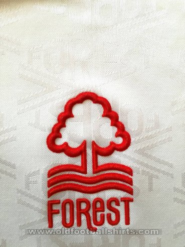 Nottingham Forest Away baju bolasepak 1991 - 1992