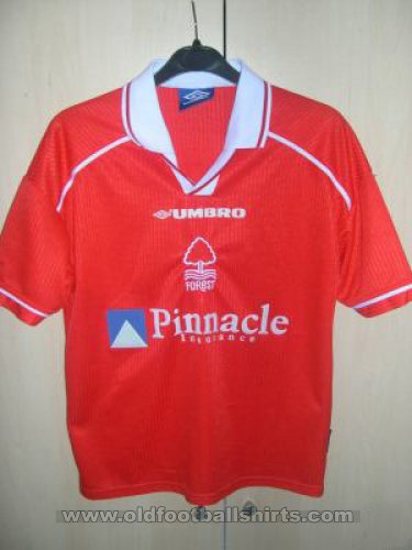 Nottingham Forest Local Camiseta de Fútbol 1998 - 2000